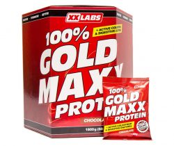 Xxlabs 100% gold maxx protein jahoda sáčky 60x30 g