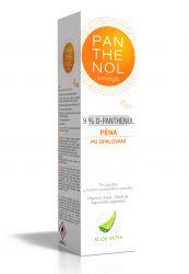 Panthenol Omega Chladivá pěna s aloe vera  9 % 150 ml