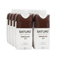 SATURO Čokoláda 2.0 drink 8x330 ml