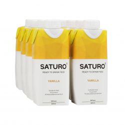 SATURO Vanilka drink 8x330 ml