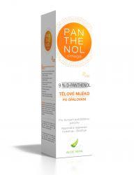 Panthenol Omega Tělové mléko aloe vera 9 % 250 ml