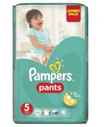 Pampers Pants vel. 5 Junior plenkové kalhotky 48 ks