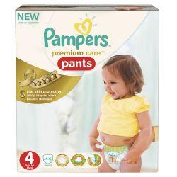 Pampers Premium Care Pants vel. 4 Maxi plenkové kalhotky 44 ks