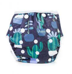 Bobánek Rostoucí plavky modré s kaktusy 1 ks 3ec5434542