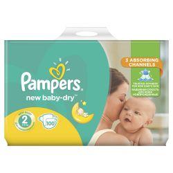 Pampers New Baby-Dry Mini 3 - 6 kg dětské pleny Giant Pack 100 ks