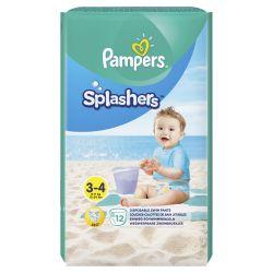 Pampers Splashers Kalhotkové plenky vel. 3 6-11 kg Carry Pack 12 ks
