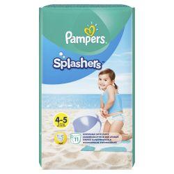 Pampers Splashers Kalhotkové plenky vel. 4 9-15 kg Carry Pack 11 ks