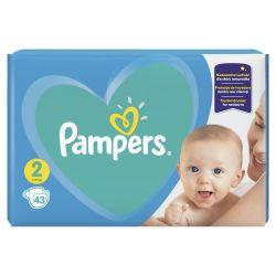 Pampers New Baby-Dry vel. 2 Mini dětské pleny 43 ks