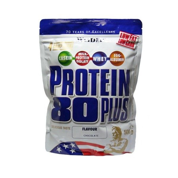 WEIDER Protein 80 Plus chocolate sáček 500 g