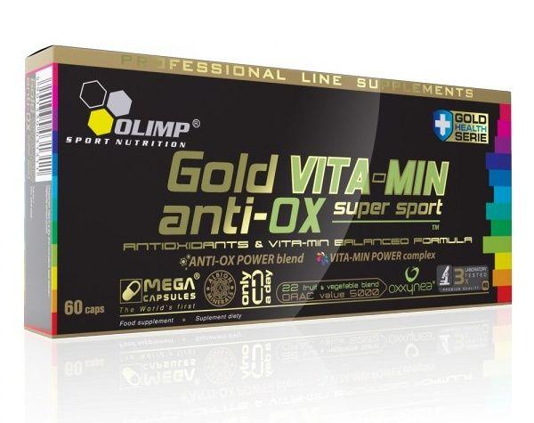Olimp Gold VITA-MIN anti-OX super sport 60 kapslí