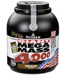 WEIDER Giant Mega Mass 4000  vanilla 3000 g