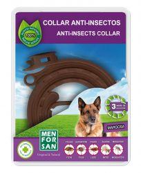 Menforsan Přírodní antiparazitní obojek pro psy odpuzující klíšťata a blechy 60 cm
