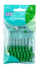 Tepe Mezizubní kartáčky zelené 0,8 mm sáček 8 ks