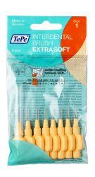 Tepe Mezizubní kartáčky EXTRA SOFT světle oranžové 0,45 mm sáček 8 ks