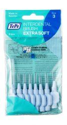 Tepe Mezizubní kartáčky EXTRA SOFT světle modré 0,6 mm sáček 8 ks