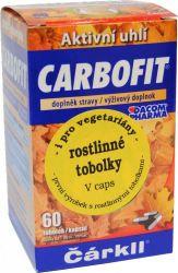 Carbofit Čárkll rostlinné tobolky 60 ks