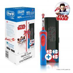Oral-B Vitality Kids Star Wars dětský elektrický zubní kartáček + cestovní pouzdro