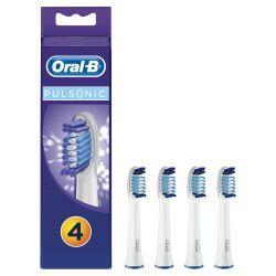 Oral-B Pulsonic SR32-4 náhradní hlavice 4 ks