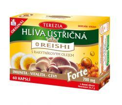 Terezia Hlíva ústřičná s REISHI Forte 60 kapslí