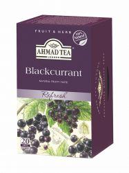 Ahmad Tea Černý rybíz porcovaný čaj 20 x 2 g