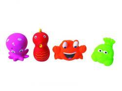 Ludi Hračky do vody mořské potvůrky 4 ks