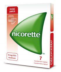 Nicorette Invisipatch 10 mg/16 h transdermální náplast 7 ks