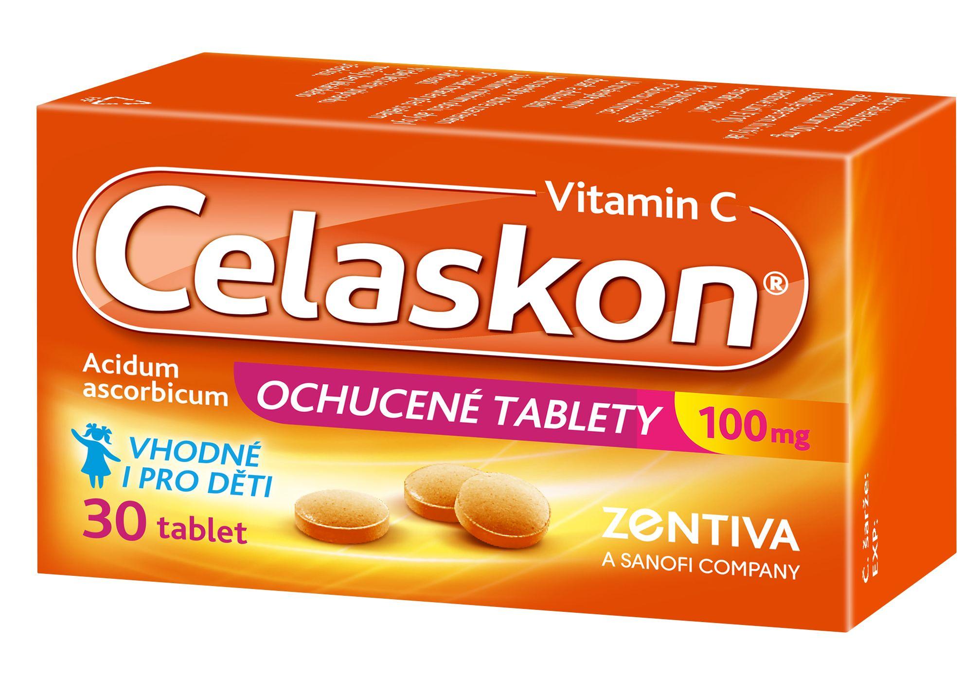 Celaskon 100 mg ochucené tablety 30 ks