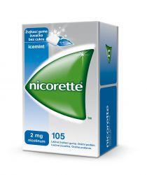 Nicorette Icemint Gum 2 mg léčivá žvýkací guma 105 žvýkaček