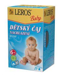 Leros Dětský čaj Nachlazení 20x2 g