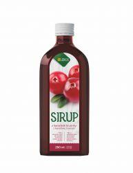 Leros Sirup z kanadské brusinky 250 ml