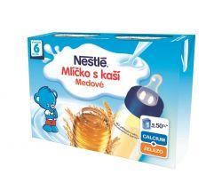 Nestlé Mlíčko s kaší Medové 2x200ml