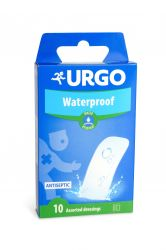 Urgo Waterproof 2 velikosti voděodolná náplast  10 ks