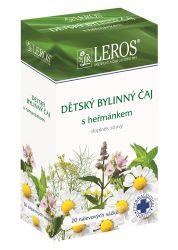 LEROS Dětský bylinný čaj s heřmánkem n.s.20x1.5g