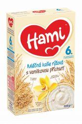 Hami Kaše rýžová mléčná 6M s příchutí vanilky 225 g