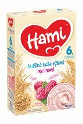Hami Kaše rýžová mléčná 6M s malinami 225 g