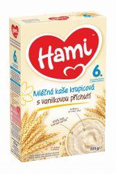 Hami Kaše obilno-mléčná krupicová 6M s vanilkou 225 g