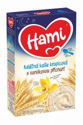 Hami Kaše na dobrou noc krupicová 4M s vanilkovou příchutí 225 g
