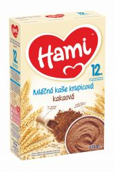 Hami Kaše mléčná krupicová kakaová 225 g