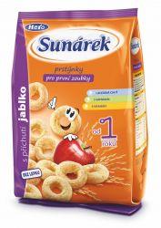 Sunárek Dětský snack jablkové prstýnky 50 g