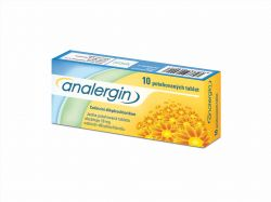 Analergin 10 mg 10 tablet