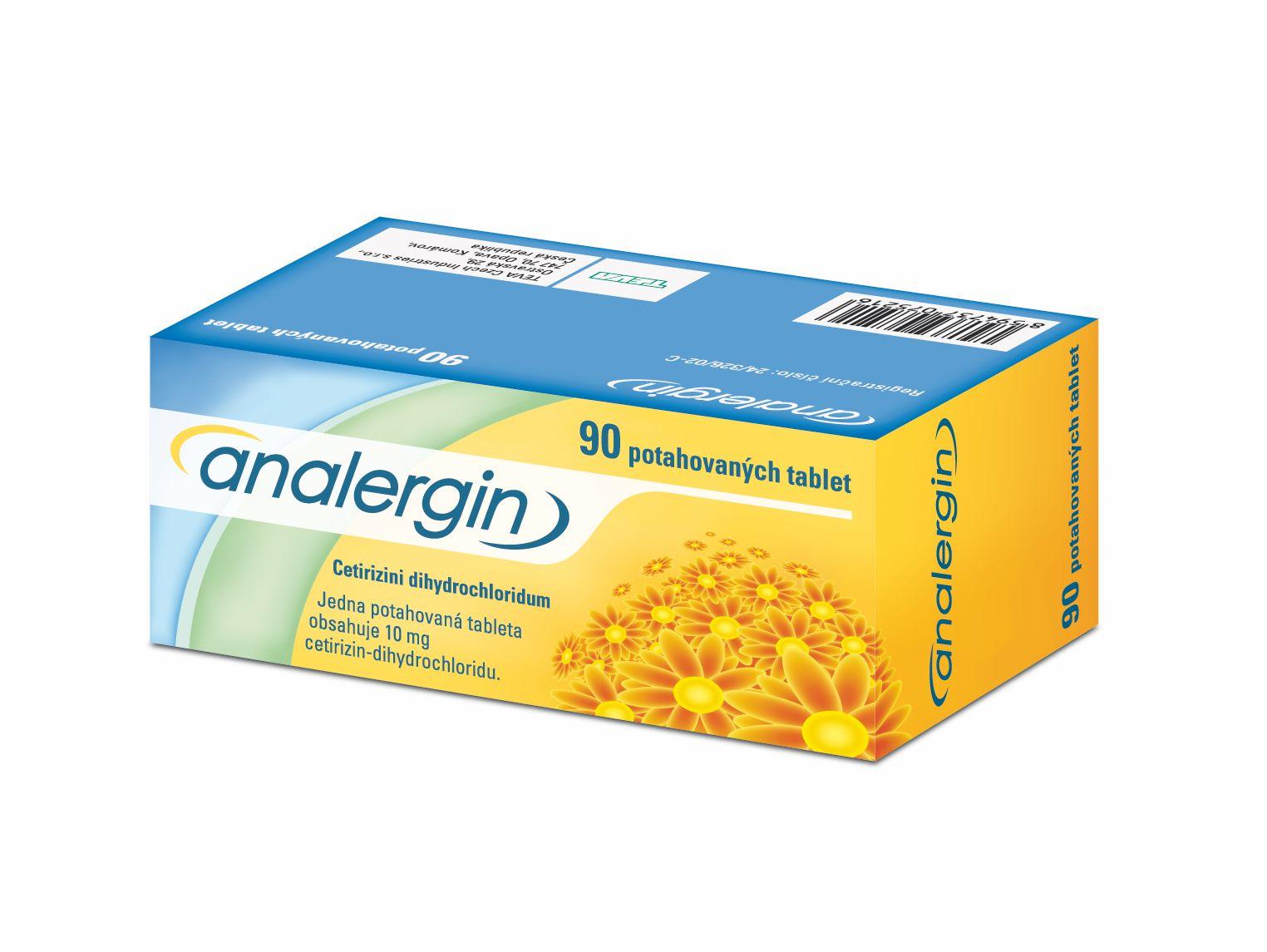 Analergin 10 mg 90 tablet
