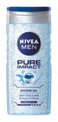 Nivea MEN Pure Impact sprchový gel 250 ml