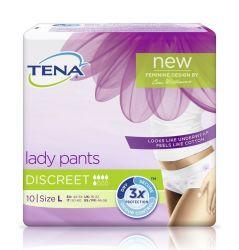 Tena Lady Pants Discreet Large inkontinenční kalhotky 10 ks