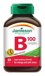 Jamieson B-komplex s postupným uvolňováním 100 mg 60 tablet