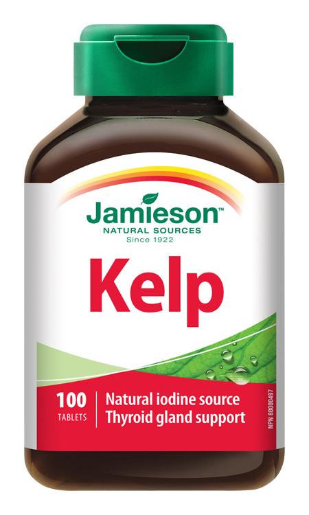 JAMIESON Kelp mořské řasy 650mcg tbl.100