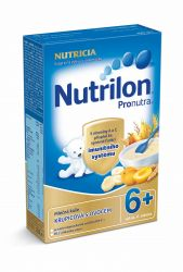 Nutrilon Pronutra kaše 6M mléčná krupicová s ovocem 225 g