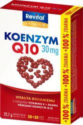 Revital Koenzym Q10 30 mg + Selen + vit.E 30+30 kapslí