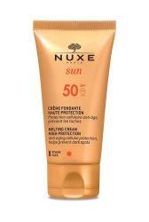 Nuxe Sun Hedvábný krém na obličej SPF 50 50 ml