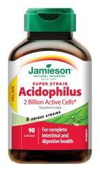 JAMIESON Super Strain Acidophilus komplex bakteriálních kultur cps.90