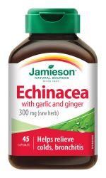 Jamieson Echinacea s česnekem a zázvorem 45 kapslí